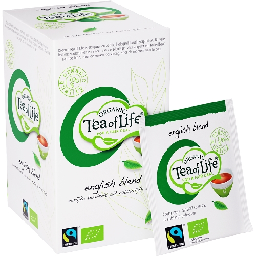Tea of Life Organic Engelse melange 25 zakjes